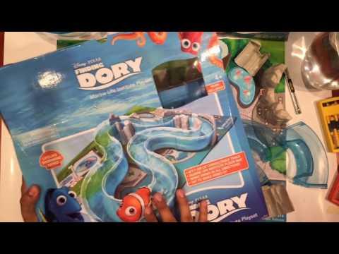 jugando Juguete Buscando a Dory Marine Life Institute Playset