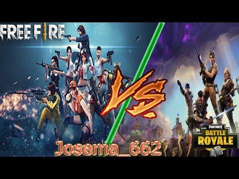 Rap De Free Fire Vs Rap De Fortnite Josema662