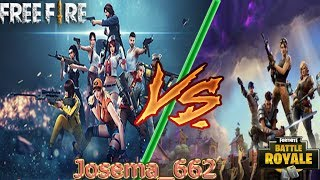 Rap by Free Fire VS Rap by Fortnite [Josema_662]