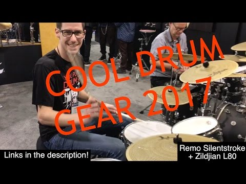 COOL DRUM GEAR 2017! NAMM 2017!