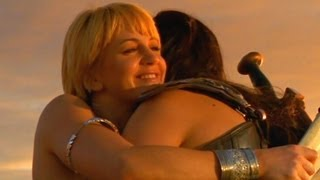 Xena and Gabrielle - thank you for being a friend (with lyrics)