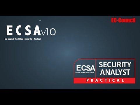 28d49bbbb7e31 EC-Council Certified Security Analyst (ECSA) v10 + ECSA (Practical ...