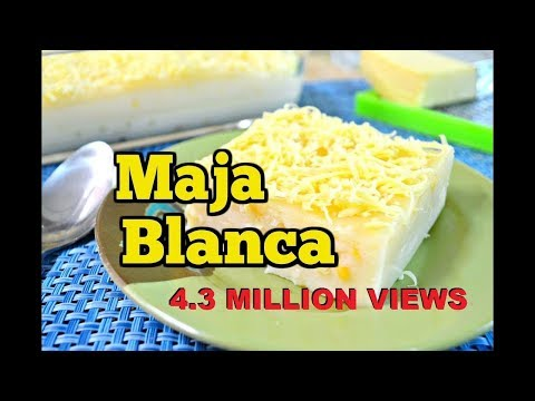 How to cook Maja Blanca (Pinoy Coconut Pudding)