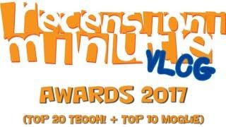 Recensioni Minute Vlog [106] - Awards 2017 (I migliori 20 giochi per me + Top 10 Moglie)