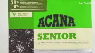 Обзор корма Acana для пожилых собак