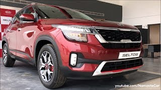 Kia Seltos GT Line T-GDI SP2i 2019 | Real-life review