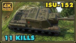 World of Tanks | ISU-152 - 11 Kills - 8,7K Damage - 1 VS 6 Gameplay
