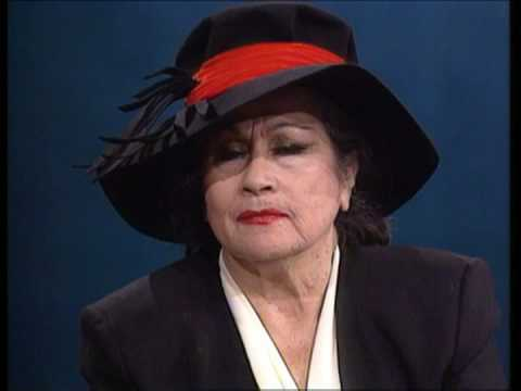 Yma Sumac interview 1990 Dutch television