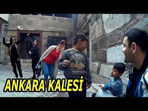 Ankara Kalesi | Eğlenceli Turist Kızlar | Angara bebeleri | Ankara'yı Geziyorum