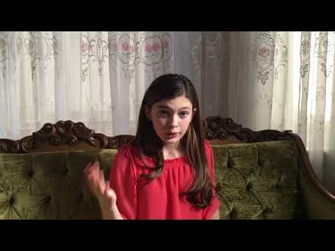 Isabella Rocha (age 12) Audition Video