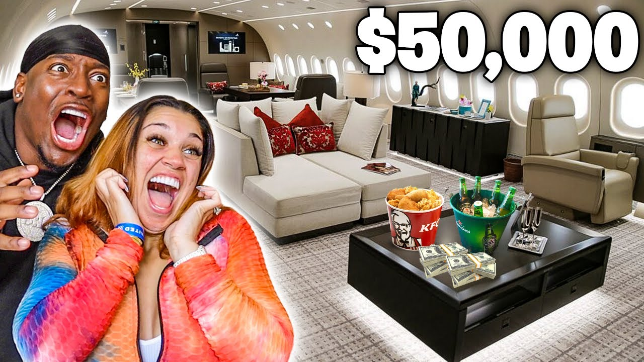WE PAID FOR THE MOST EXPENSIVE PLANE TICKETS IN THE WORLD **FIRST CLASS SEATS**