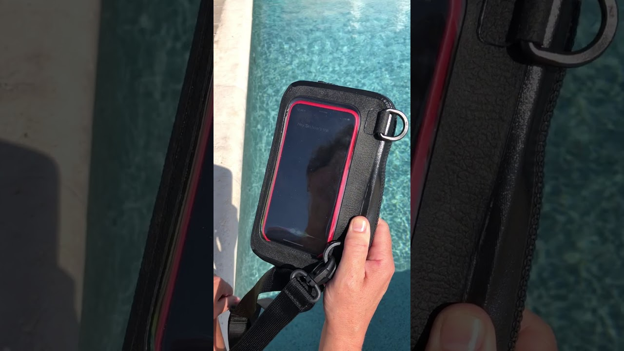 Best IPHONE X Waterproof Case and Waterproof Pouch - YouTube