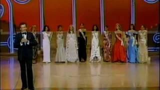 Miss Universe 1984 Top 5 Finalist