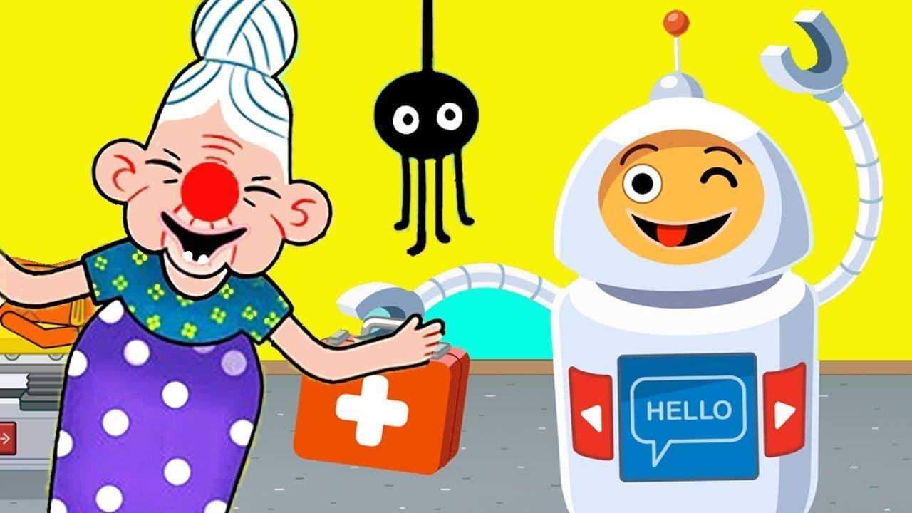 Играем как ТОРГОВЫЙ ЦЕНТР в PEPI HOSPITAL #139 Мультяшная игра для детей детское видео и мультик