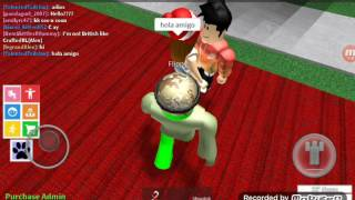 that girl is crazy! / roblox / boys and girls dance club / HTF Character: flippy