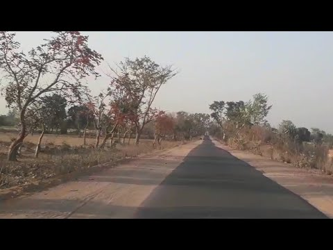 Beautiful landscape | NH 75 to NH 76 transend journey | traveling through kukrel juncle |