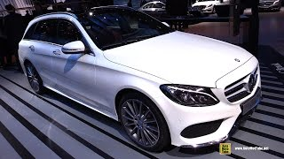 2015 Mercedes-Benz C-Class C Break Wagon C220 Diesel - Exterior and Interior Walkaround