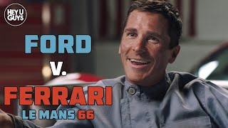 Christian Bale Interview - Ford v Ferrari (Le Mans '66)