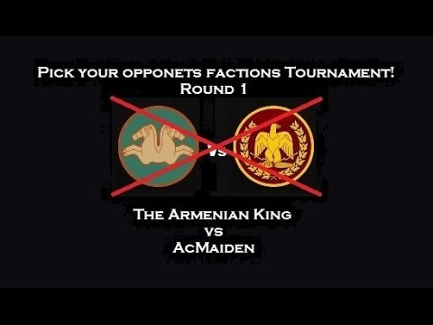 The Armenian King vs AcMaiden - Pick Yout Opponent's Faction Tournament - Round 1 English