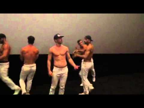 The Dreamboys at Empire Cinemas  Magic Mike XXL Screening