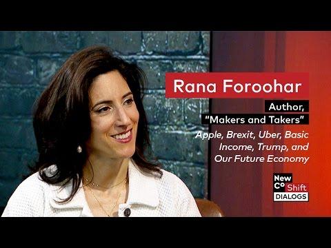 Rana Foroohar on the Rise of Finance and the Fall of American Business | Shift Dialogs