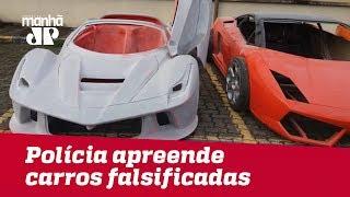 Polícia Apreende Ferrari E Lamborghini Falsificadas Em Oficina Em Sp; Três Pessoas São Presas