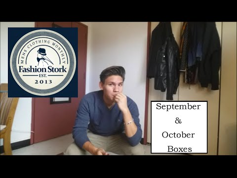 FASHION STORK   SEPTEMBER AND OCTOBER 2015 BOX REVIEWS   YouTube