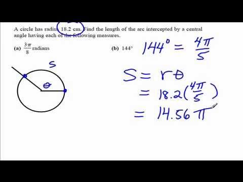 Application of Radian Measure in Trigonometry 3.2
