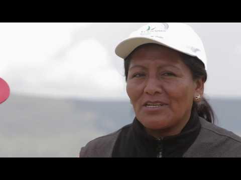 Employee profile: Luz Marina Huaman, Las Bambas