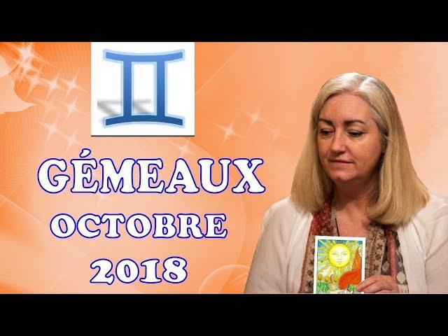 GÉMEAUX Octobre 2018 Tarot Astrologique