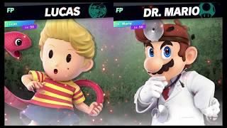 Super Smash Bros Ultimate Amiibo Fights   Request #7795 Lucas vs Dr Mario