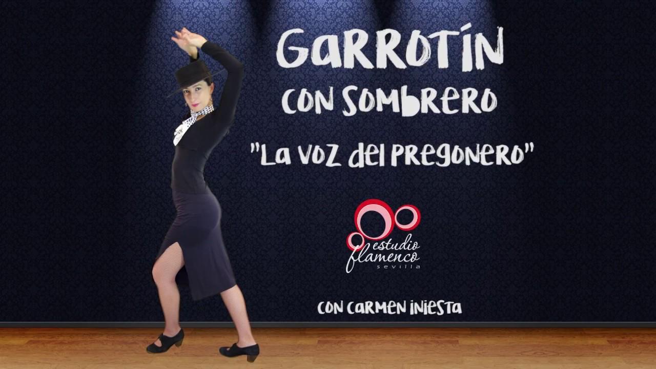 1d480f3b19f Garrotín con Sombrero - Curso de Flamenco Online - YouTube