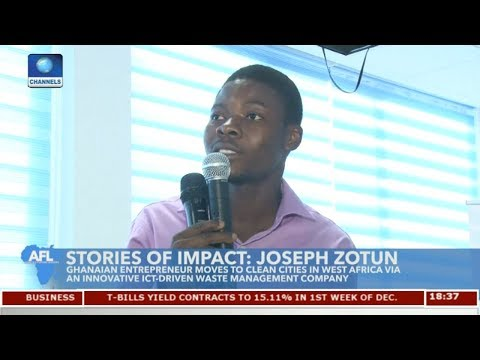 Ghanaian Entrepreneur Moves To Clean Cities In West Africa | Africa's Future Leaders |
