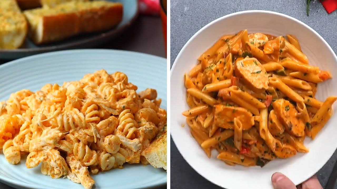 7 Super Easy Pasta Recipes To Make At Home Youtube