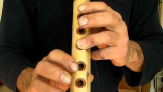 How to play Native American Flute with Joe Arnold Lesson 1 For Beginners