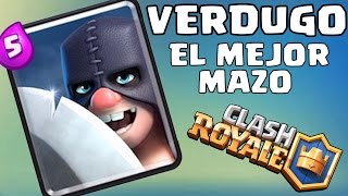 ! WIRE HARNESS INCREDIBLE WITH THE EXECUTIONER! Clash Royale with the EXECUTIONER, the best harness with the EXECUTIONER