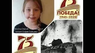 Леонид Серый, «Курска дуга». Читает София Зайцева.