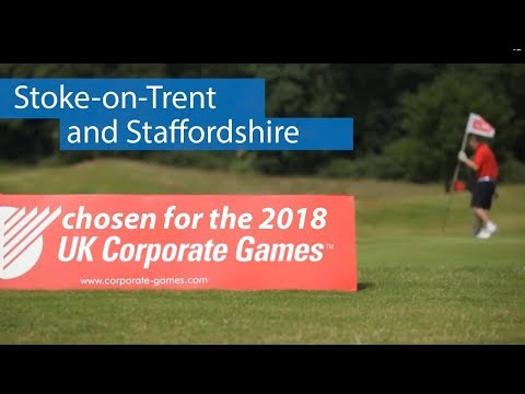 Staffordshire & Stoke-on-Trent to host UK CORPORATE GAMES 2018
