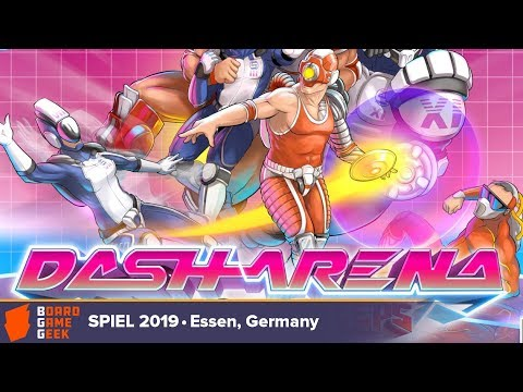Dash Arena - Game Overview At SPIEL 2019