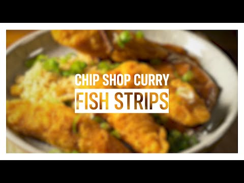 Chip Shop Curry Fish Strips | Iceland Foods