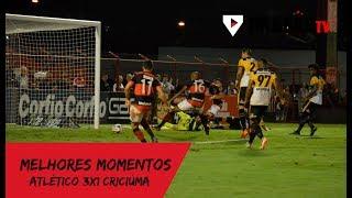 Melhores momentos: Atlético 3x1 Criciúma