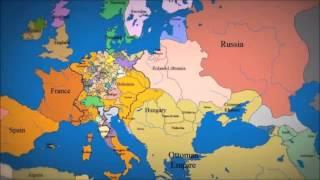 ევროპის ათასწლიანი ისტორია - ანიმაციური რუკა