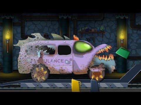 Kids TV Channel | scary ambulance | car garage | Halloween videos for children | emergency vehicles