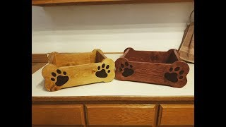 How to build dog toy box
