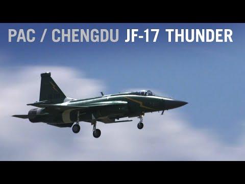 PAC/Chengdu JF-17 Thunder Displays Maneuvers at Paris Air