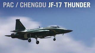 PAC/Chengdu JF-17 Thunder Displays Maneuvers at Paris Air Show (Display 3) – AINtv