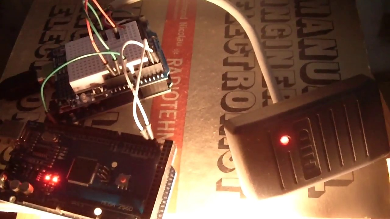 HID RFID reader with Arduino