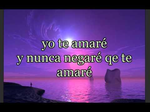 Alejandro Fernandez - Te Amaré Lyrics   MetroLyrics