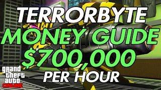 GTA ONLINE - CLIENT JOB MONEY GUIDE $700,000 PER HOUR!!!