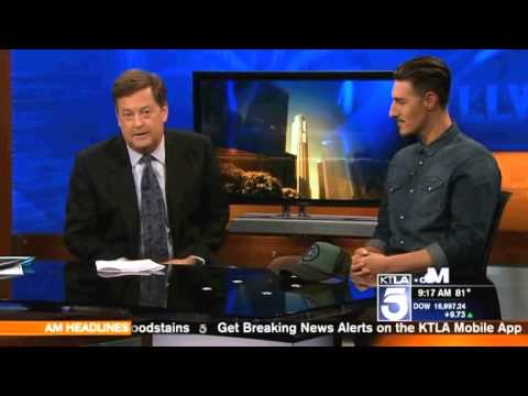 KTLA Interview with Eric Balfour